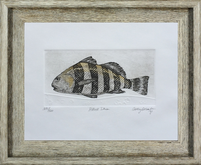 Cathey December Limited Edition Etchings