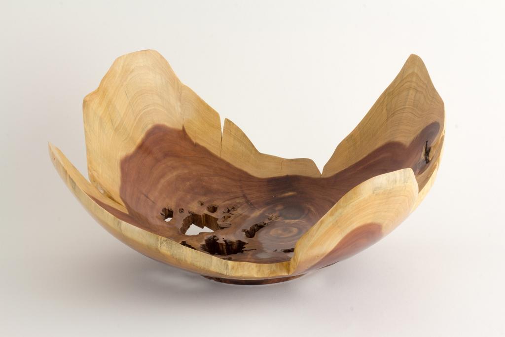 Cedar Natural Edge Bowl