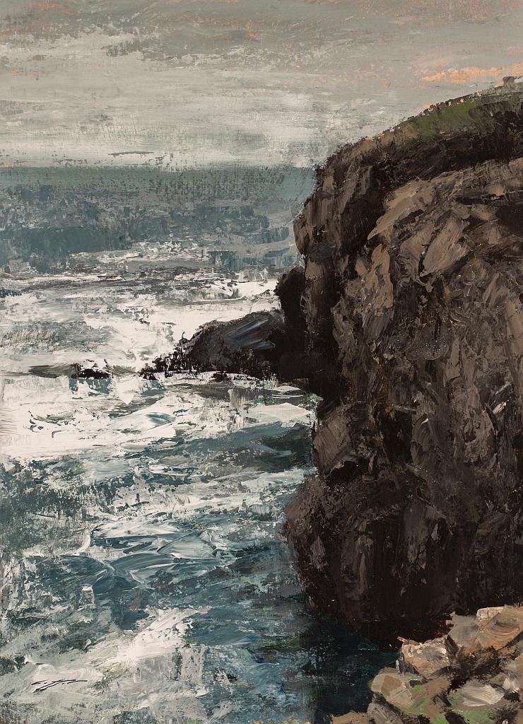 Cliffs at Vik