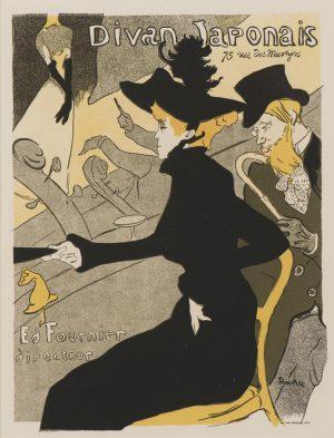 Toulouse-Lautrec - Divan Japonais