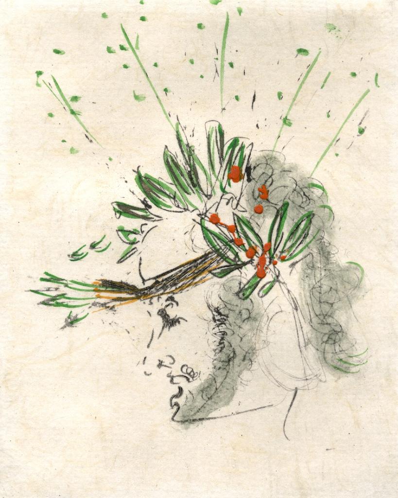 Salvador Dali The Poet