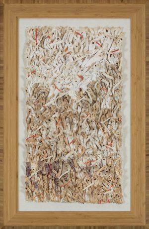 Jeong & Choon Yun - JEONG & CHOON YUN Original Mixed Media Hanji Paper tapestries