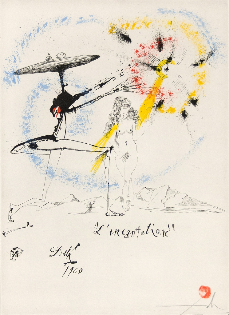 Salvador Dali Incantation