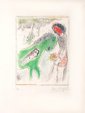 Marc Chagall - Le Cheval Vert
