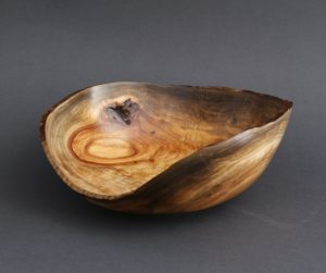 Mark Wood - Natural Edge Camphor Bowl