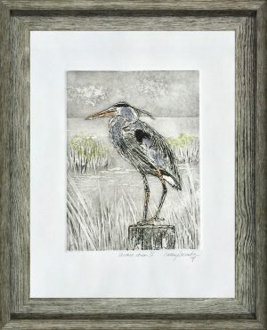 Cathey December - Perched Heron II