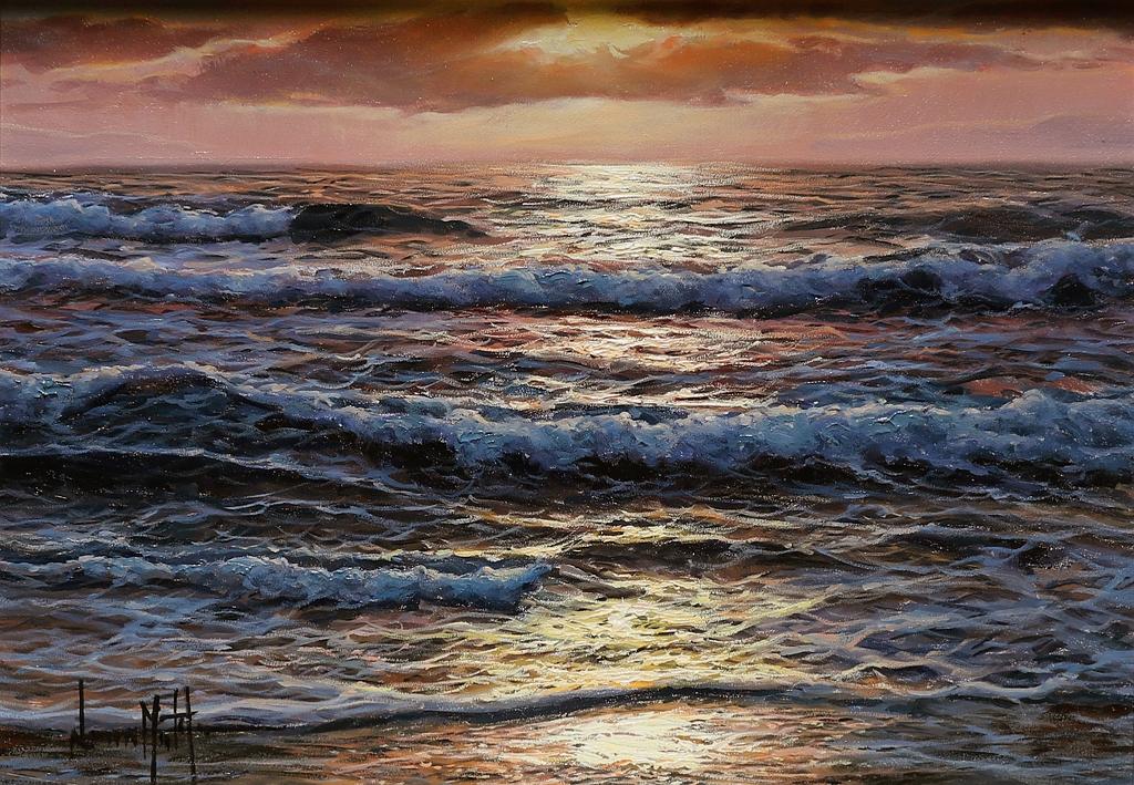 navarro seascape painting