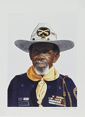 Dean Mitchell - RT. Williams Buffalo Soldier