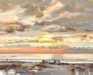 Josef Kote - Sea and Clouds