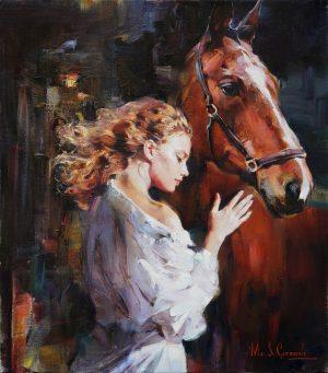 M. & I. Garmash - M & I Garmash Original Painting