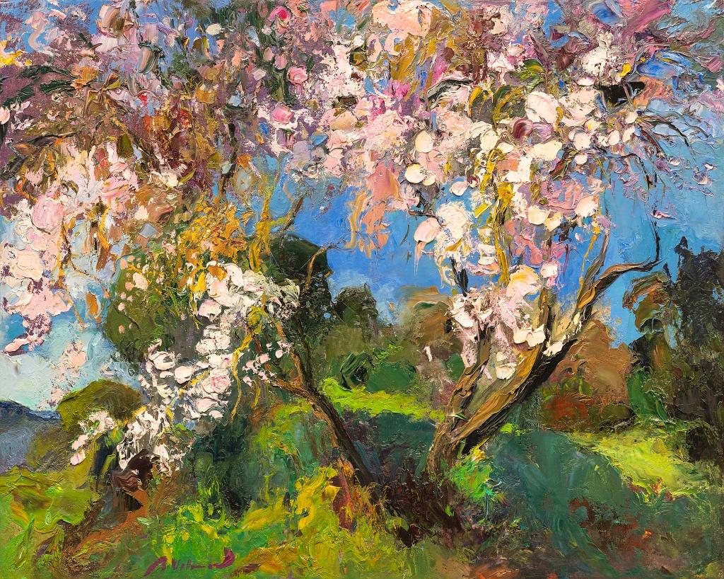 Ramon Vilanova Original Oil Painting