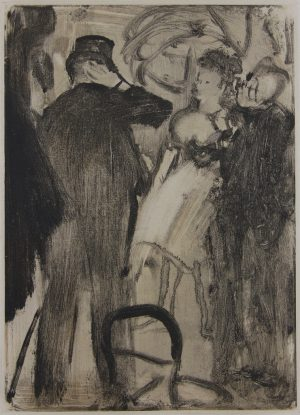 Edgar Degas - The Most Embarrassed was Marquis Cavalcanti