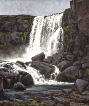 Matthew Cutter - Thingvellir Waterfall II