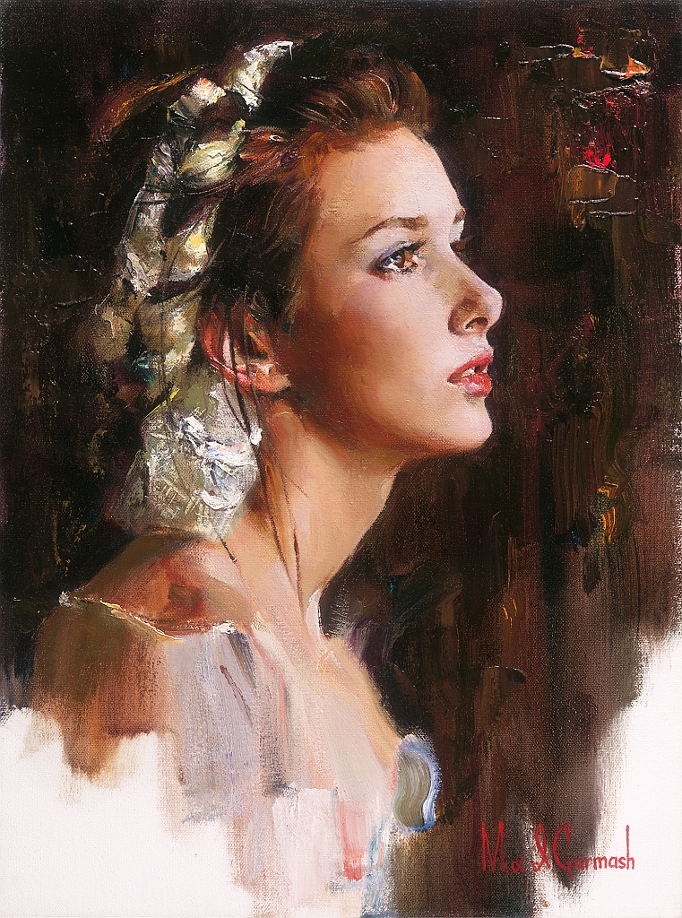 Michael and Inessa Garmash Limited Edition Print