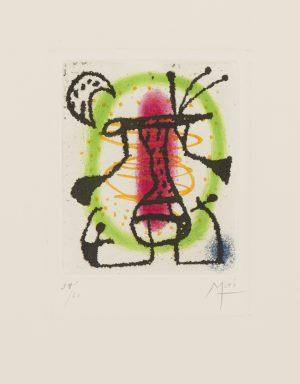 Joan Miro - Untitled - Bague d'Aurore