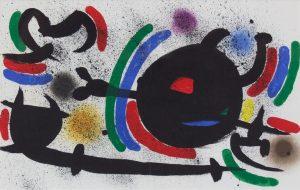 Joan Miro - Volume I - Lithograph X