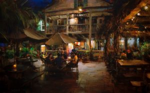 Dmitri Danish - An Evening at the Cafe