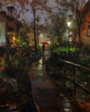 Dmitri Danish - Evening Rain