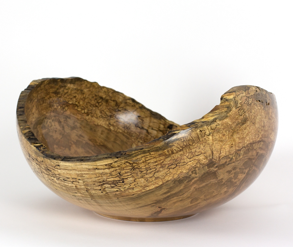 Maple Natural Edge Bowl