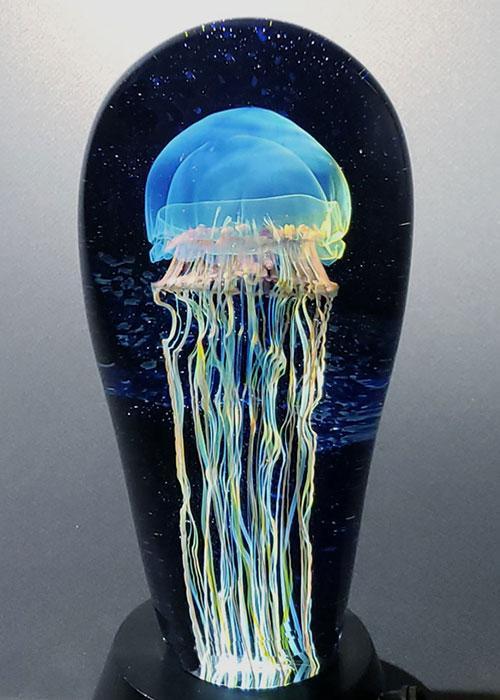 Moon Jellyfish Seascape