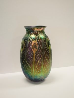 Charles Lotton - Peacock Vase