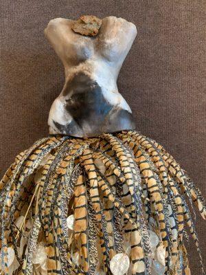 Estella Fransbergen - Wall Mount Feather Girlie