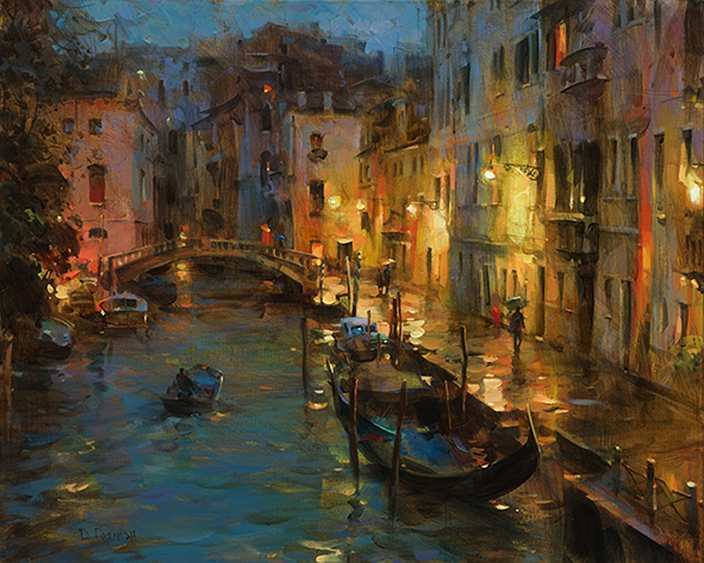 Drizzle in Venice