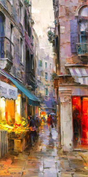 Dmitri Danish - Evening, Venice