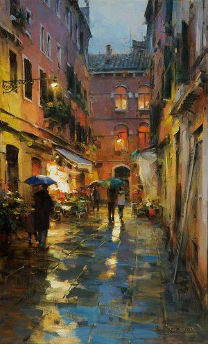 Dmitri Danish - Rainy Venice