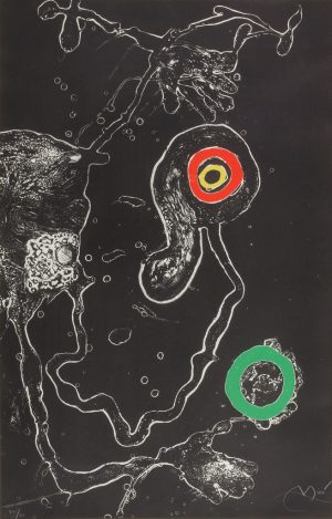 Joan Miro - Untitled from the Barcelona Suite - Plate V