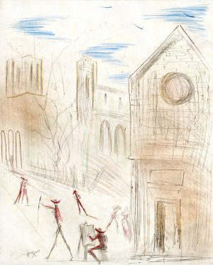 Salvador Dali - Individual - St. Julien le Pauvre
