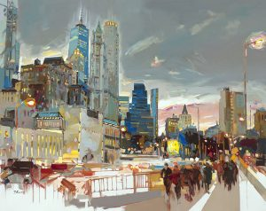 Josef Kote - Skyline at Night