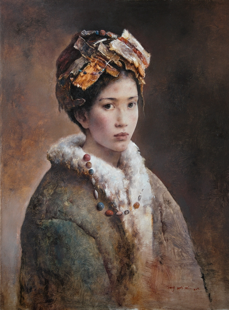Tang Wei Min original oil painting