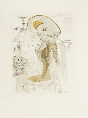 Salvador Dali - Mythology - Athena