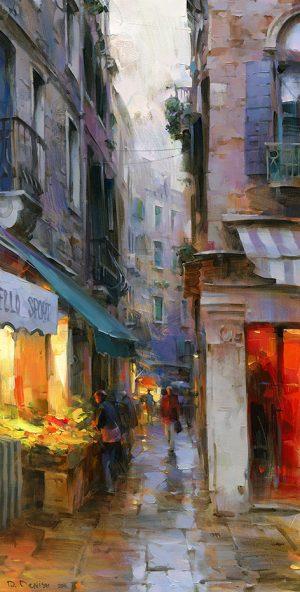Dmitri Danish - Evening Venice