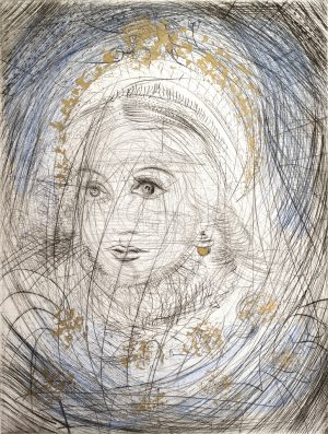 Salvador Dali - Faust - Portrait of Marguerite