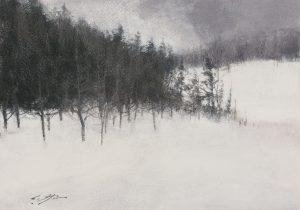 Matthew Cutter - Snow Covered Hills
