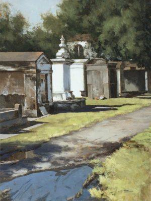Matthew Cutter - Lafayette Cemetery, New Orleans