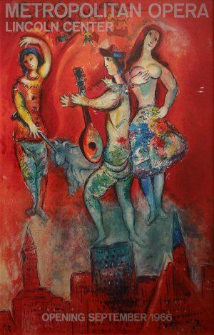 Marc Chagall - Metropolital Opera