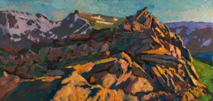Timur Akhriev - Sunset in the Rockies