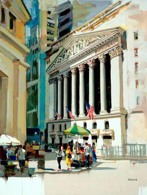 Josef Kote - Stock Exchange - NYC