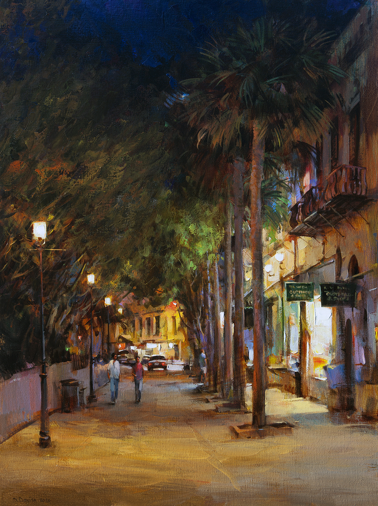 The Night is Young, St. Augustine
