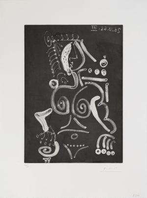 Picasso - Femme Nue au Fauteuil
