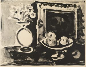 Picasso - Large Still Life with Fruit Bowl