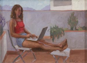 Melissa Hefferlin - She Loved Working on the Roof