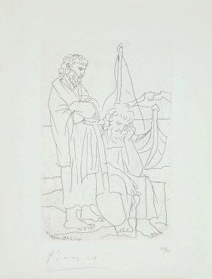 Picasso - Deux Vieillards et Voilier
