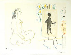 Picasso - Dans L'Atelier