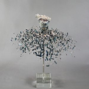 Estella Fransbergen - Clay Torso with Blue Patina Shorti Style