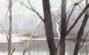 Dean Mitchell - dean mitchell original painting-watercolor