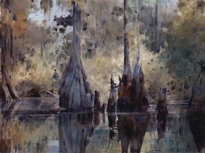 Dean Mitchell - Florida Cypress Trees